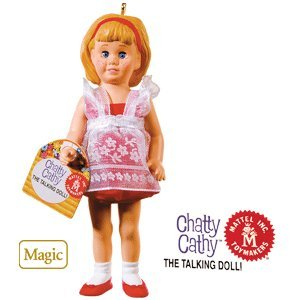 Chatty Cathy 2010 Hallmark Ornament