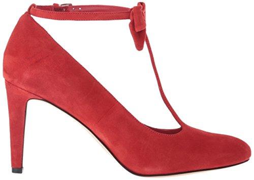 Pump Nine Suede Hollison Dress Red West Women's TxRqXx6p