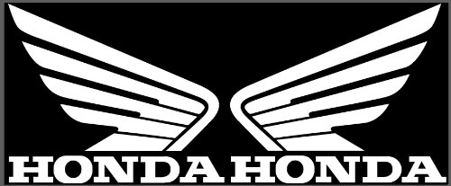 Honda Wings Set of 2 Vinyl Decal Gas Tank Stickers Motorcycle Window USA SELLER (Honda Decal Set)