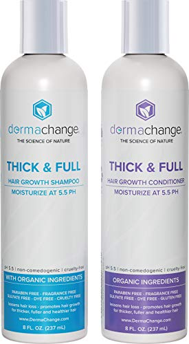 Organic Vegan Natural Hair Growth Shampoo and Conditioner Se