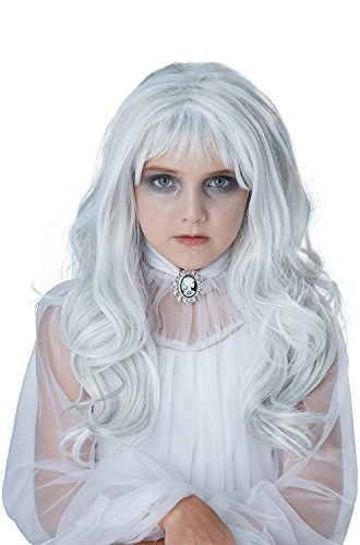 California Costumes Child's Ghost Wig, Gray, One Size