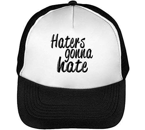 Negro Blanco Dope Snapback Gonna Gorras Hombre Hate Beisbol Haters qCZw80x