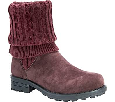Amazon.com | MUK LUKS Women's Kelby Winter Boot | Snow Boots