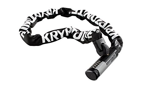 Kryptonite Kryptolok Combination Integrated Bicycle Chain (9.5mm X 120cm)