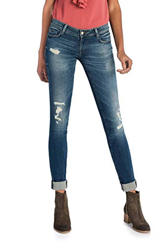 Salsa Jeans Shape Up Slim dlavage Premium Bleu