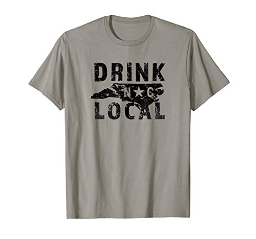 Drink Local North Carolina Craft Beer NC Old North State Tee