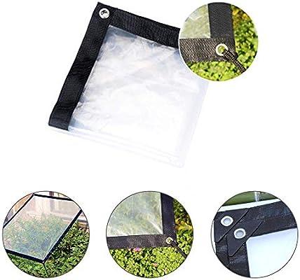 Lona Transparente Para Jardín Impermeable Anti Congelación Película Impermeable A Prueba De Lluvia Toldo De Aislamiento Cubierta De Plástico PE (1 * 2m): Amazon.es: Coche y moto