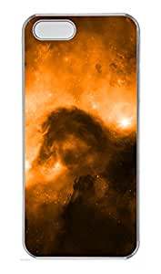 iPhone 5 5S Case Skyviews orange PC Custom iPhone 5 5S Case Cover Transparent