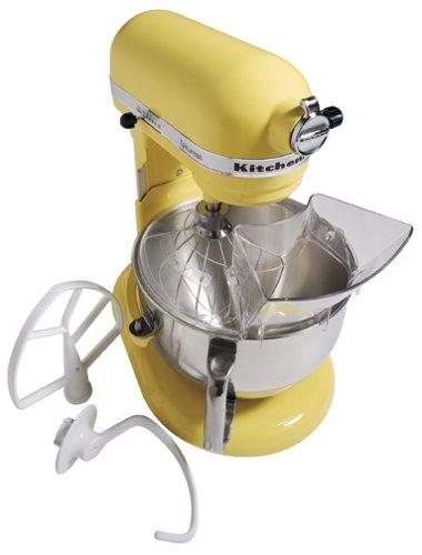 KitchenAid KT2651X Epicurean 475 Watt 6 Quart Stand Mixer, Majestic Yellow