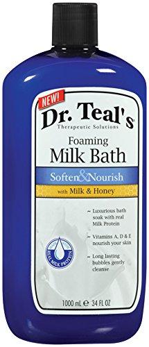 Dr. Teal's Foaming Bath (Soften & Nourish with Milk & Honey, 34-Ounce)