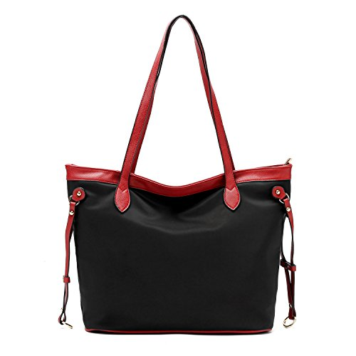 LoZoDo Women Top Handle Satchel Handbags Shoulder Bag Messenger Bag Tote (Handbags Purses Zip Top)