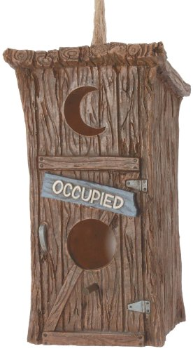 - Spoontiques Outhouse Birdhouse