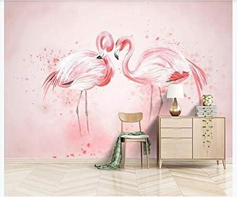 Murals Custom 4d Wallpaper Animal Series Minimalistic Hand Painted