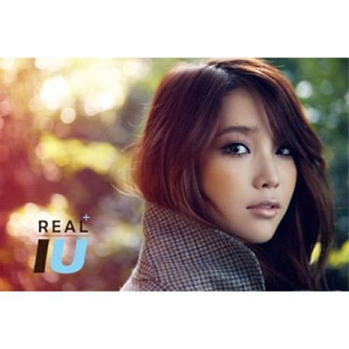 IU [REAL+] 3rd Mini Plus Album CD+Booklet+Tracking Number K-POP SEALED