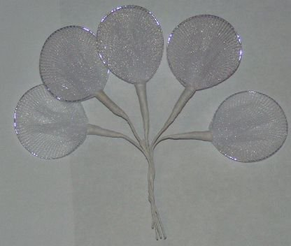 Italian Wire and Organza Jordan Almonds Holders - Bag of 144
