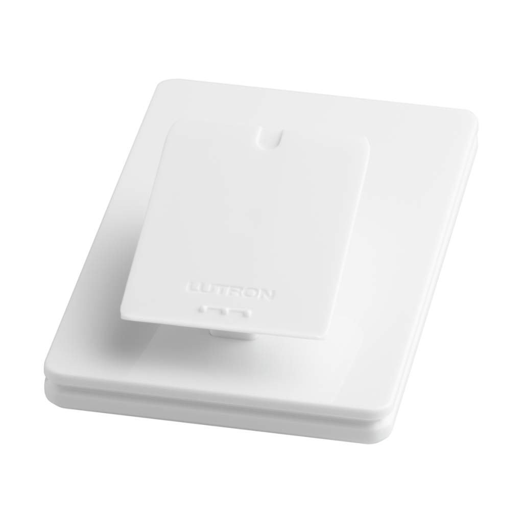 Caseta Wireless Pedestal for Pico Remote, L-PED1-WH, White