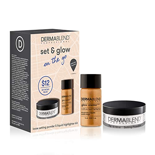 Dermablend Set and Glow On The Go Makeup Gift Set