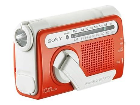 Sony ICF-B01 Personal Emergency Radio (Discontinued by