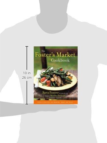 The fosters market cookbook favorite recipes for morning noon the fosters market cookbook favorite recipes for morning noon and night sara foster sarah belk king james baigrie martha stewart 9780375505461 forumfinder Images