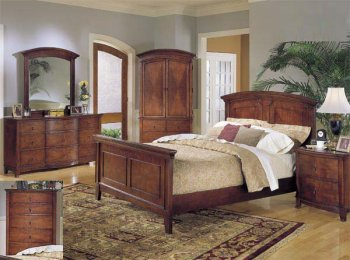 Amazon.com - SOLID CHERRY 1930\'s STYLE 6PC BEDROOM SET*ART ...