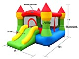 Bounceland Castle W/Hoop Inflatable...