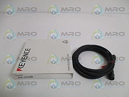 Amazon com: KEYENCE Corp NX-C03R NXC03R, Extension Cable