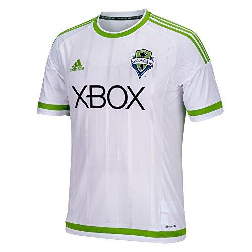 許可する担当者沈黙adidas Seattle Sounders FC Away Soccer Jersey 2015 -YOUTH/サッカーユニフォーム シアトル?サウンダーズFC アウェイ用 背番号なし 2015 ジュニア向け