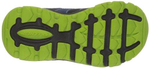 Skechers PillarIgnus - Caña baja de material sintético niño negro - Schwarz (BNVL)