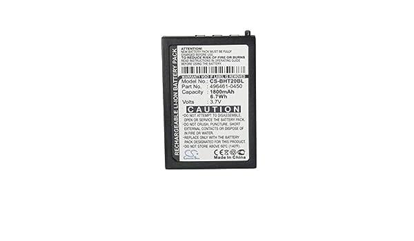 Amazon com: Sunsamy 1800mAh/6 66Wh 3 7V Li-ion Bar Code