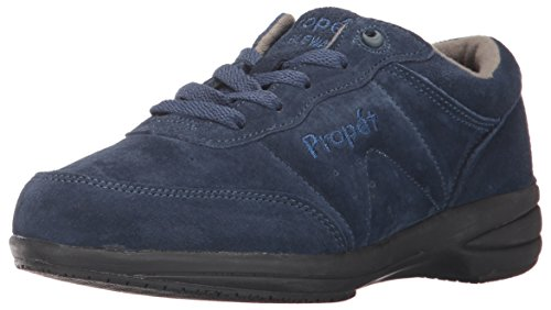 Propet Women's Washable Walker Walking Shoe, SR Indigo, 6.5 N US (Walker Washable Shoes)