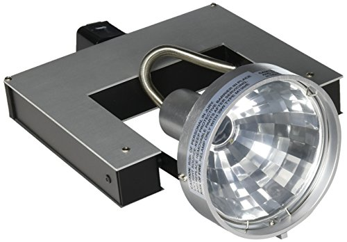 Jesco Lighting HMH702T4NF39A Contempo Series Metal Halide Track Head for H 3-Wire Single Circuit Track System, Aluminum