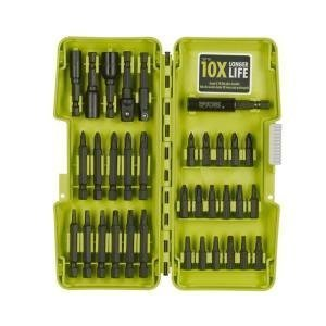 Ryobi A963402 34 Piece Impact Rated Driving Bits with Dock-It Collection Storage Solution