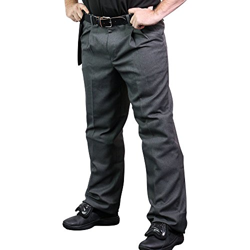CHAMPRO The Field - Baseball Umpire Pant Grey Adult 38 BPR2 BPR2AGR38 ()
