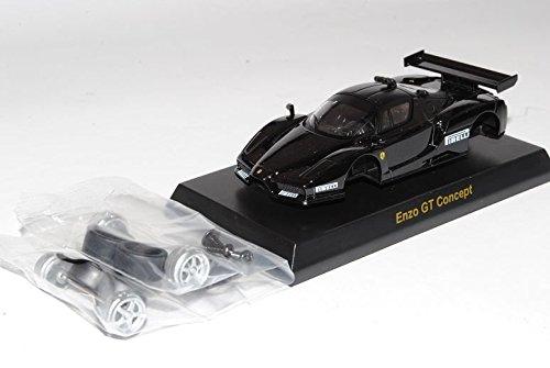 Ferrari Enzo GT Concept Schwarz 2002-2004 Bausatz Kit 1/64 Kyosho Sonderangebot Modell Auto