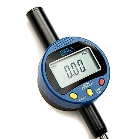 Digital Micrometers - Reloj comparador digital (de 0 a 25 mm, 0,01 mm de resolución): Amazon.es: Industria, empresas y ciencia