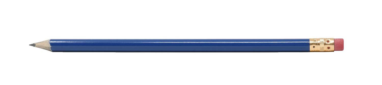 Pencil Guy 丸型 空白 削り鉛筆 ブルー B07HM8KVCT ミディアムブルー