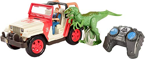 Jurassic World Jeep Wrangler Raptor Attack RC Vehicle