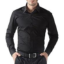 Men's Long-Sleeve Casual/Dress Shirt