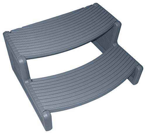 G&GOnline Dark Gray Resin Handi-Step for Spa and Hot Tubs