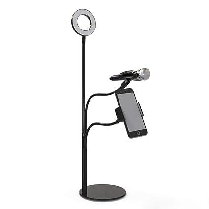 WPZL Anillo De Luz LED con Soporte para Teléfono Soporte De ...
