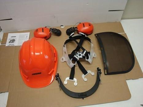 Amazon.com: 99988801500 Casco de seguridad con visera ...