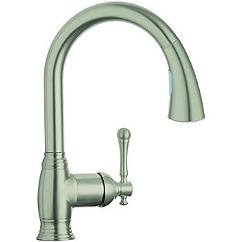Bridgeford Single-Handle Pull-Down Kitchen Faucet