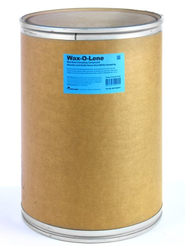 Wax Base Sweeping Compound - Cotto-Waxo W-6 Wax-O-Lene Wax Base Sweeping Compound, 150 lbs Drum