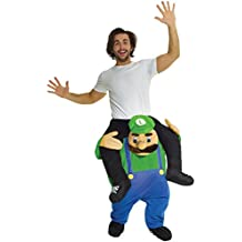 Novelty Piggy Back Funny Piggyback Costume Unisex - with Stuff Your Own Legs