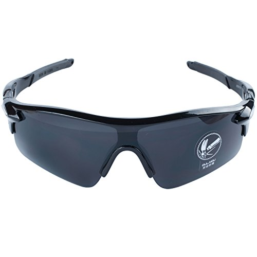 Deportes Ciclismo Pesca Gafas De Bicicleta Aire de Al Para Conducción La De Negro Sol ANVEY Negro Libre Lentes Gafas Moda Gafas Montura ZXwqx5Bv8