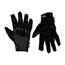TVS Riding Gloves (Black, M), Medium