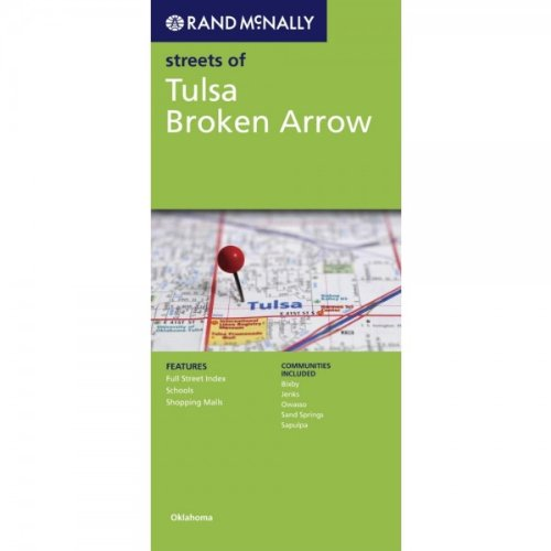 Rand McNally Folded Map: Tulsa, Broken Arrow (Rand McNally Streets
