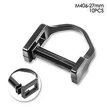 Heavy Duty Webbing Slide Plastic Triglides Slide Belt Strap Slide Buckle (27 mm)