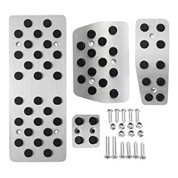 Accesorios de interior Pedal Accesorios - 4 piezas coche pedal cubierta freno embrague Gas 4 Piese placa Pad de plata para Volvo XC90: Amazon.es: Bricolaje ...