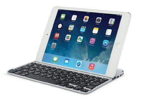 Logitech Ultrathin Keyboard Cover for iPad mini - Silver (Ipad 4 Case Logitech)